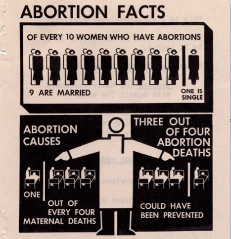 Image of Abortion Facts poster