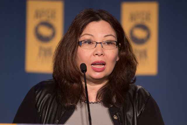 not pro-life, give birth, Senator Tammy Duckworth wants abortion without restriction