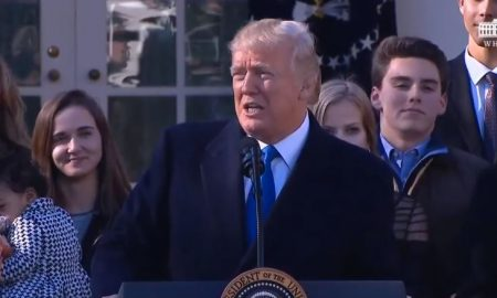 Trump address the march for life 2018