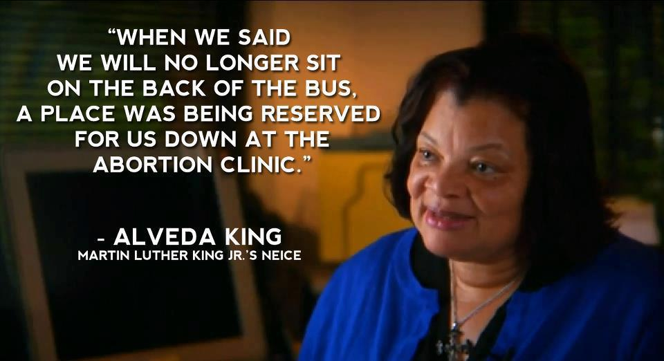 Image: Dr. Alveda King in Maafa21