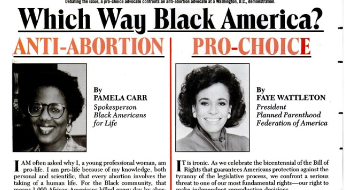 Image: Ebony Magazine article on abortion