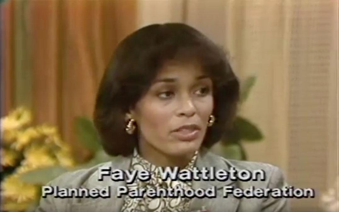 Faye Wattleton first Black president Planned Parenthood