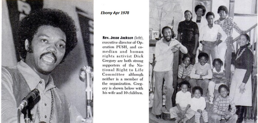 Image Dick Gregory Rev. Jesse Jackson