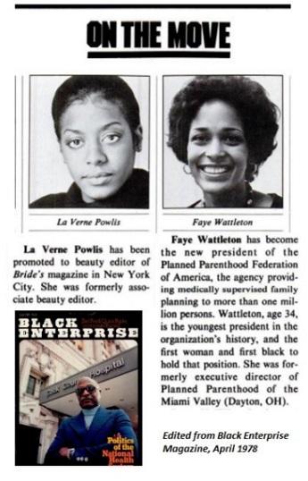Image: feature from Black Enterprise Magazine
