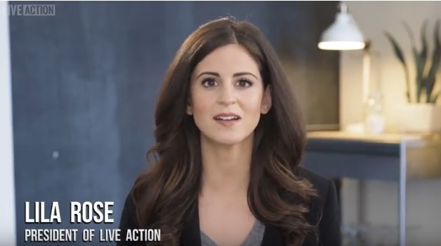 Image: Lila Rose introduces Live Action's Planned Parenthood Aiding Abusers series