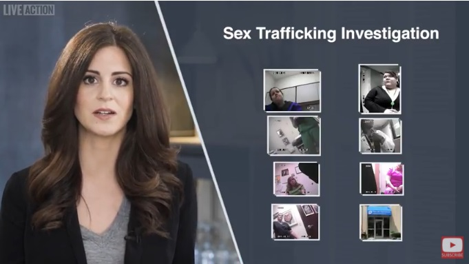 Image: Live Action Aiding Abusers series Planned Parenthood staffers aids sex traffickers