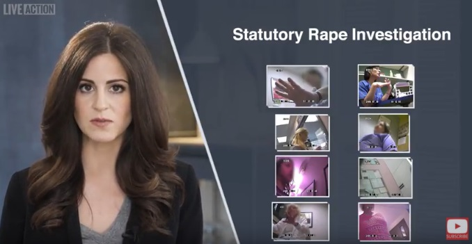 Image: Live Action Aiding Abusers series shows statutory rape investigation into Planned Parenthood