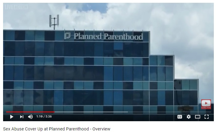 Image: Live Action's Planned Parenthood Aiding Abusers series