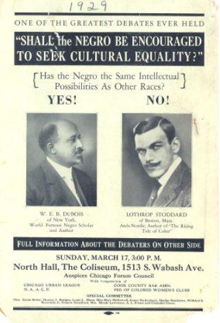Image: Lothrop Stoddard debate about Black equality