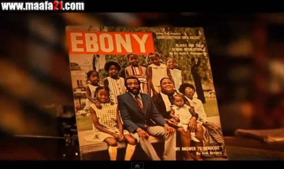 "Image"" Dick Gregory in Ebony from Maafa21"