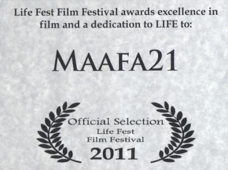 Image: Maafa21 award