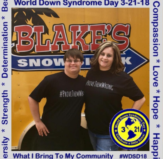 Image: Mary Ann and Blake Pyron for World Down Syndrome Day