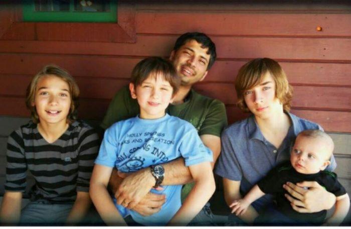 Jen Christie's family