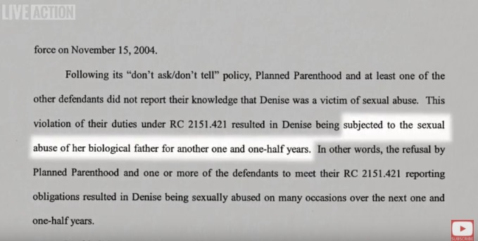 Image: Brian Hurley talks about Planned Parenthood sexual abuse cover up