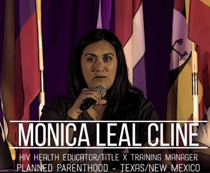 Monic Cline former Planned Parenthood TitleX training manager