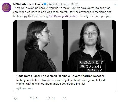 NNAF on self managed abortions