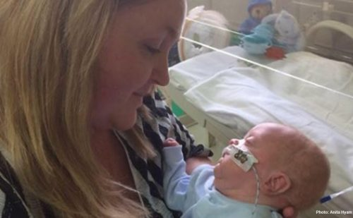 UK mom questions abortion limit after Baby William arrives at 23 weeks