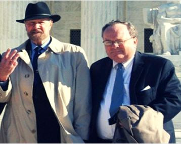 Joe Scheidler_Tom Brejcha outside US Supreme Court