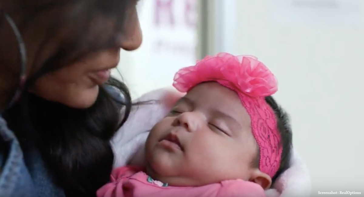 'The baby's alive!': Gabriela's life was saved by abortion pill reversal
