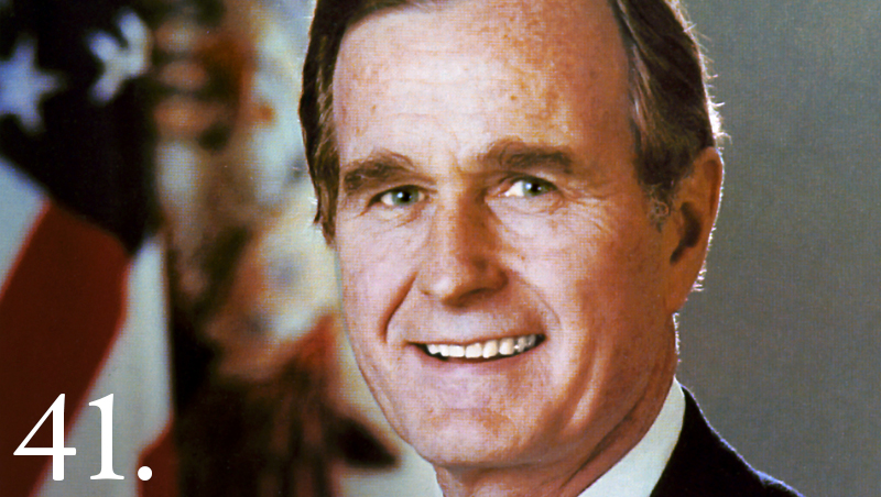 Image: President George HW Bush (Image: WhiteHouse.gov)