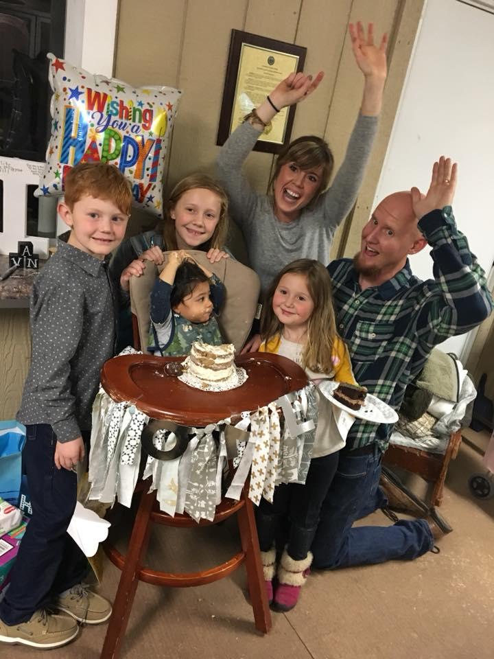Moberley family photo