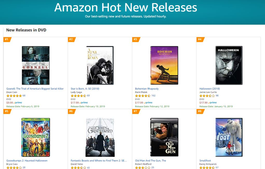 89cebe433af93 amazon best selling new releases - Live Action News