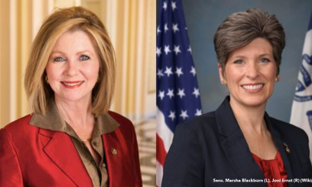 pro-life senators Blackburn and Ernst