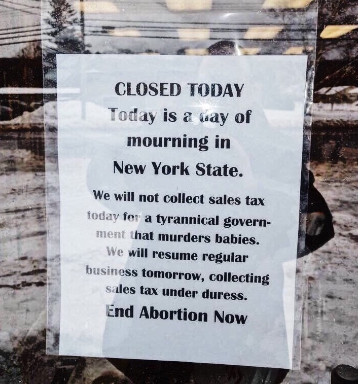 New York abortion