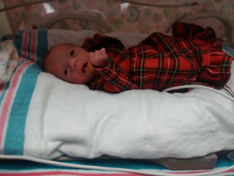 Born premature at 29 weeks, Hannah Joy thrived against all