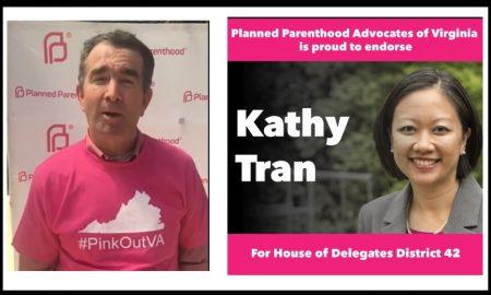 Image: Planned Parenthood endorsed VA Gov. Ralph Northam and Rep. Kathy Tran