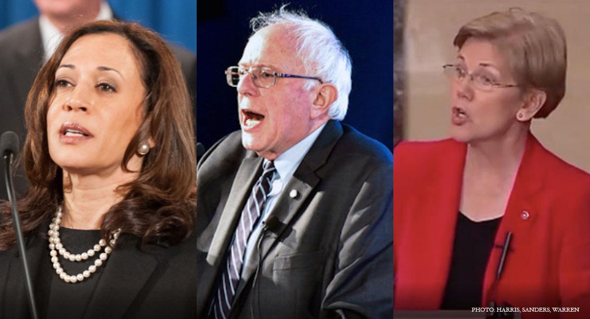 democratic-candidates-harris-sanders-warren