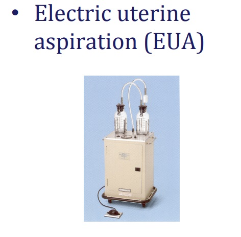 Electric Uterine Aspiration EUA abortion tool