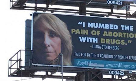 Iowa pro-life billboards