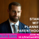 Image: Brian Sims supports Planned Parenthood (image Facebook)