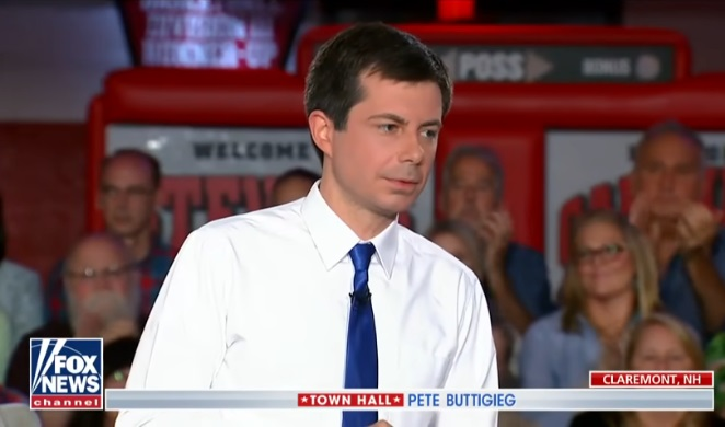 Image: Pete Buttigieg Fox Town Hall, late-term abortion