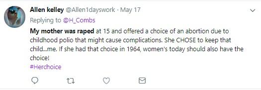 Rape and Abortion Tweet 4