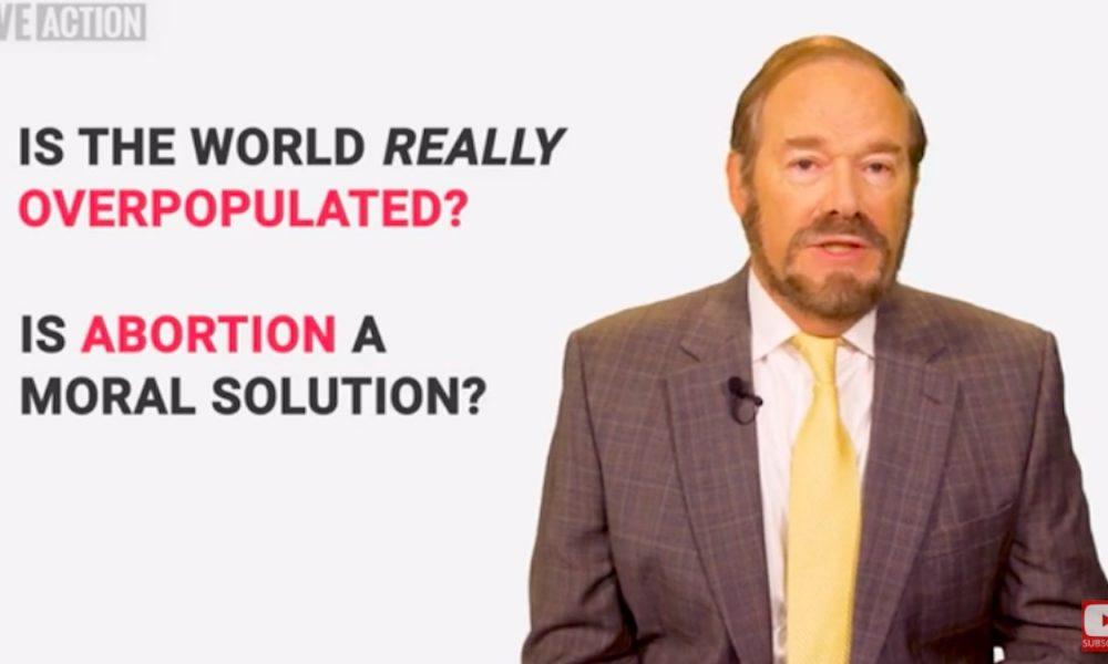 pro-life replies, overpopulation, abortion