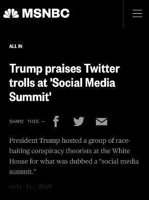 MSNBC Twitter trolls