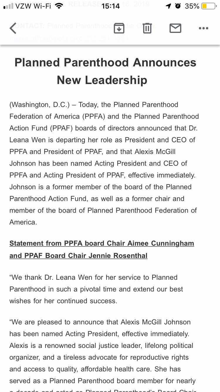 pp wen announcement