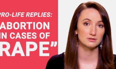 pro-life replies, rape