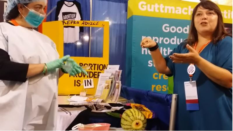 screenshot abortion demo