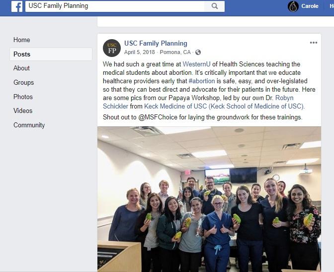 Image: Robyn Schickler Papaya Workshop USC FP (Image: Facebook)