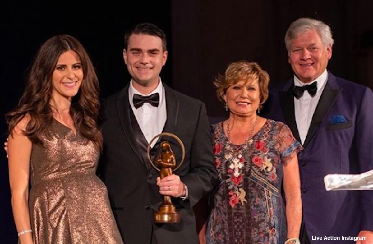 ben shapiro life awards gala