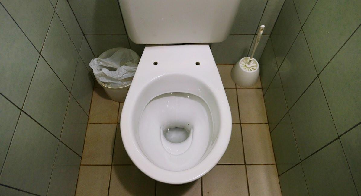 baby born in toilet, newborn