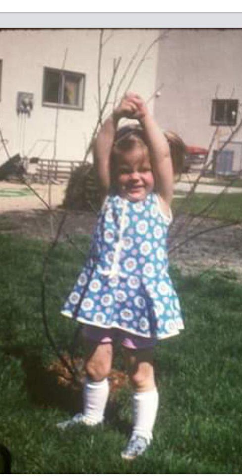 Loughead as a child.