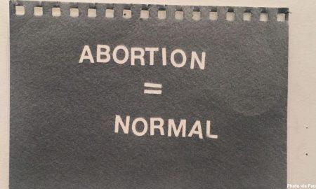 abortion art exhibit