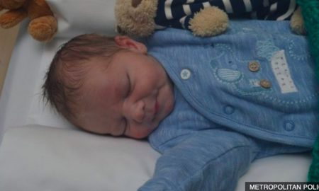 newborn abandoned in London