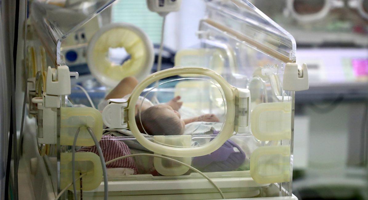 Trisomy 18, newborn, incubator