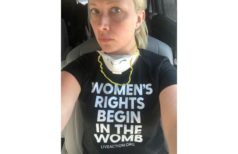 Elisha pro-life Live Action t-shirt