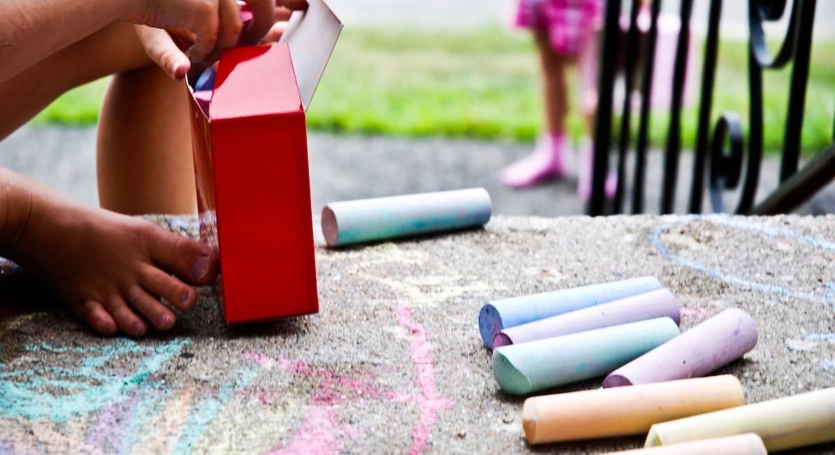 pro-life, sidewalk chalk
